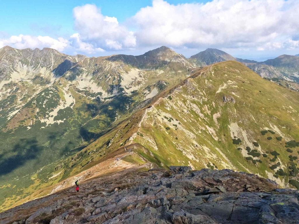 Zejście na Przełęcz nad Puste