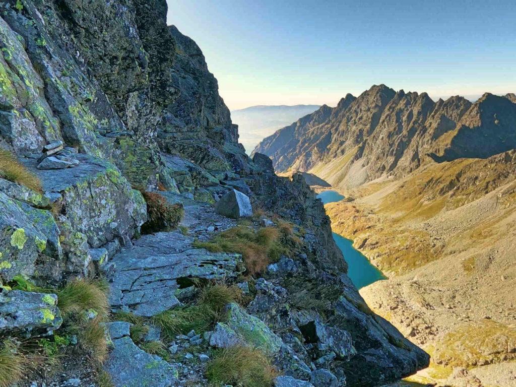 Mięguszowiecki Szczyt Wielki od Hińczowej Przełęczy