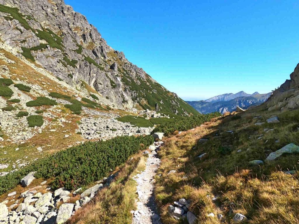 Zejście do Doliny za Mnichem