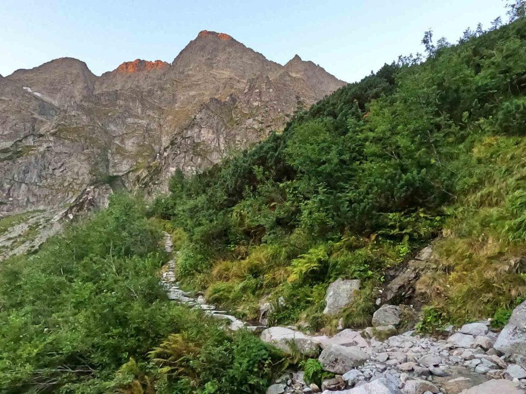 Żółty szlak do Doliny za Mnichem