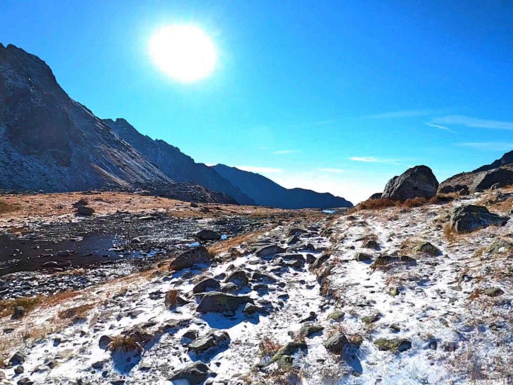Dolina Mięguszowiecka, niebieski szlak