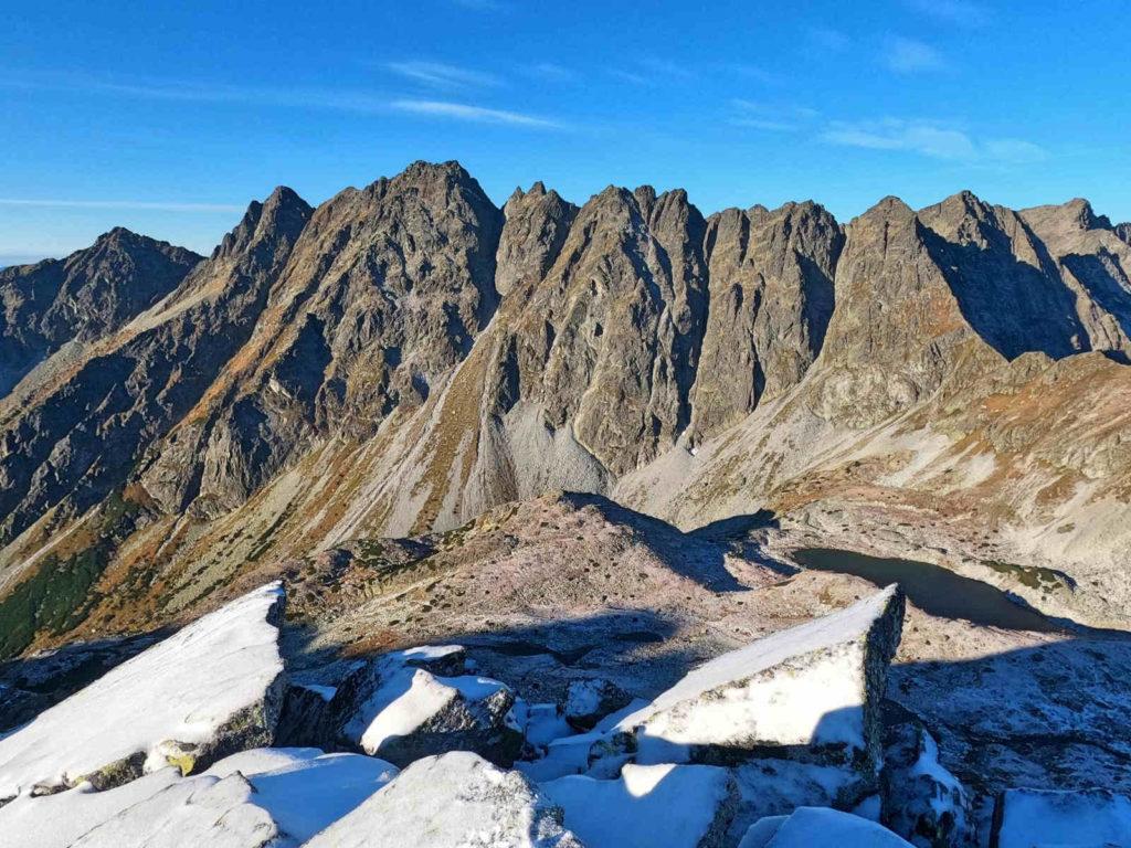 Wołowiec Mięguszowiecki, widoki ze szczytu